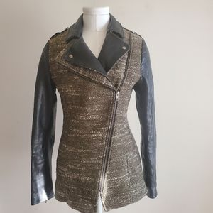 Soia & Kyo wool/leather jacket